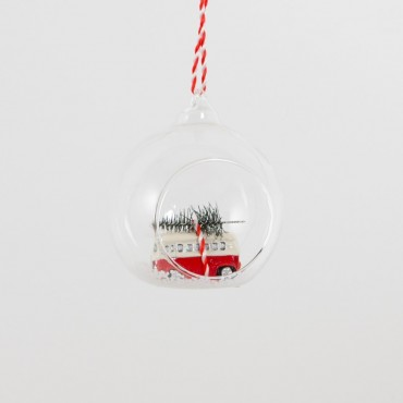 Boule de Noël - Van & Neige