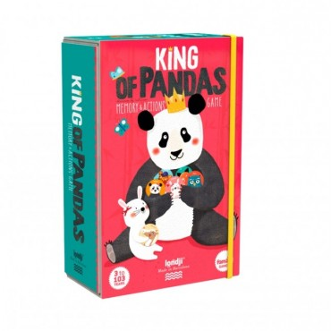 Jeu de mémo - Le roi des pandas
