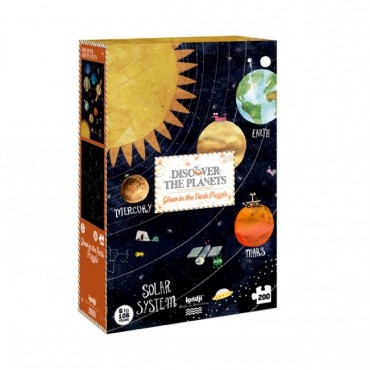 Puzzle Discover the planets (200 pièces)