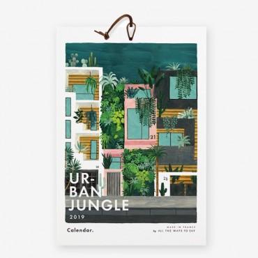 Calendrier 2019 - Urban Jungle