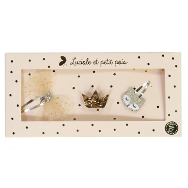 Box Barettes & Broches - Renard Or