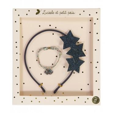 Box Serre-têtes & Bracelet - Liberty Katie & Millie Bistre