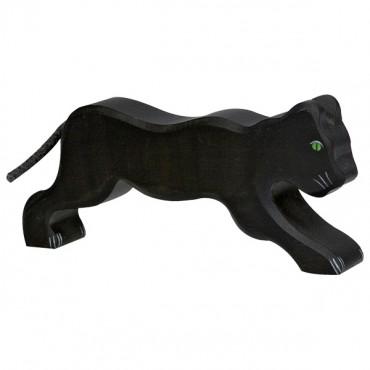 Animal en bois - Panthère