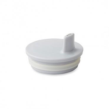 Bec adaptable pour tasse Design letters - Gris
