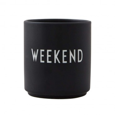 Tasse porcelaine Favourite - Week-end