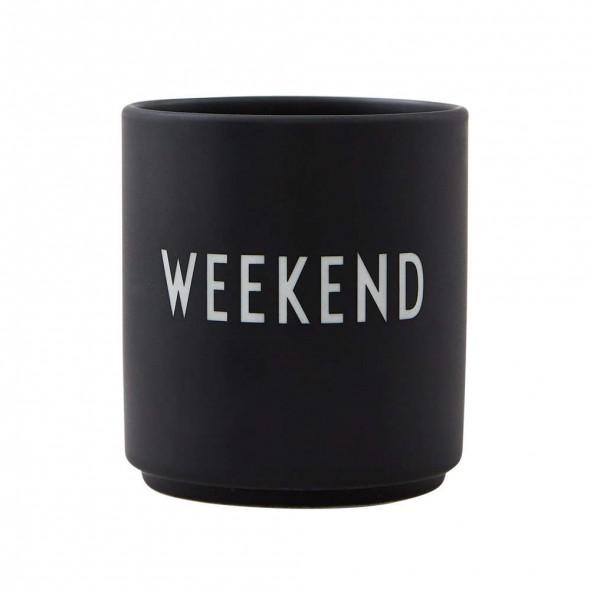 Tasse porcelaine Favourite - Week-end