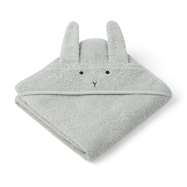 Sortie de bain Albert - Rabbit (dusty mint)