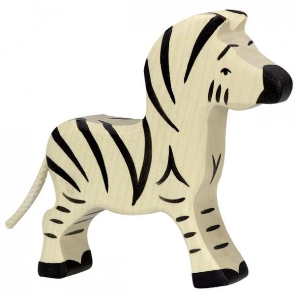 Animal en bois - Petit Zèbre