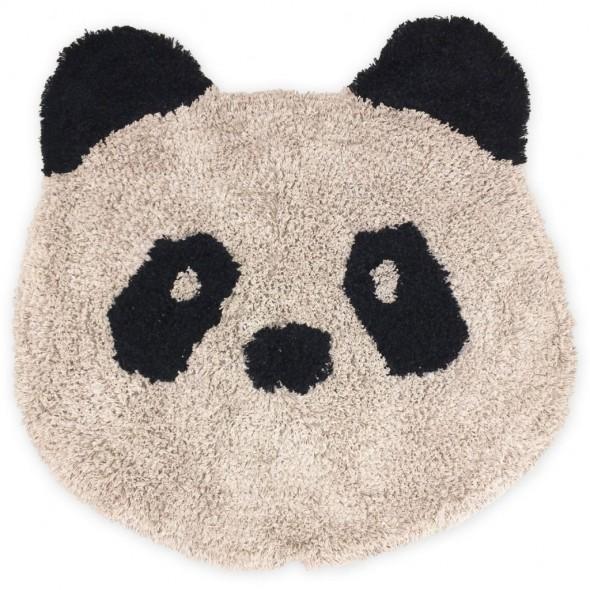 Tapis en coton Bobby - Panda