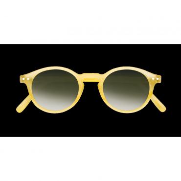 Lunettes de soleil Forme H - Yellow Chrome