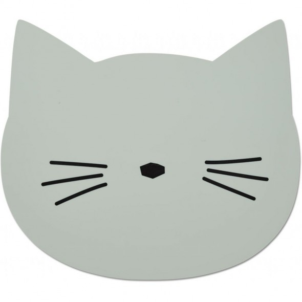 Set de table Aura - Cat (dusty mint)