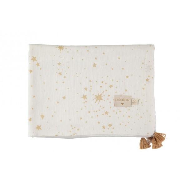 Couverture Été Treasure -  Gold stella / White