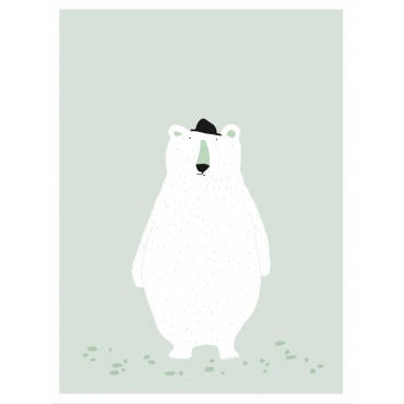 Affiche - Mr Polar Bear
