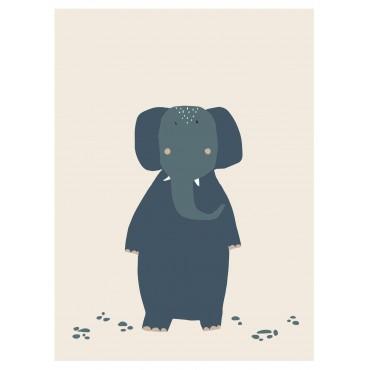 Affiche - Mrs Elephant
