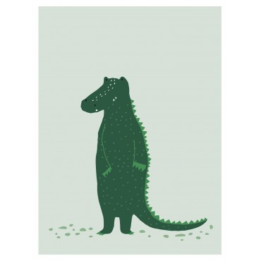 Affiche - Mr Crocodile