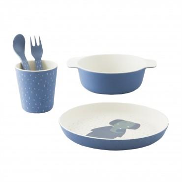Set de vaisselle en bambou - Mrs Elephant