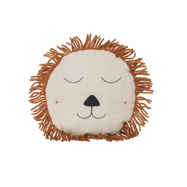 Coussin Safari - Lion (naturel)