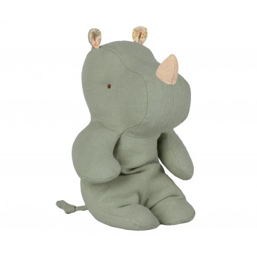 Doudou Little Hippo - Dusty green