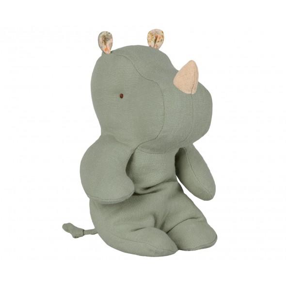 Doudou Little Hippo - Dusty green