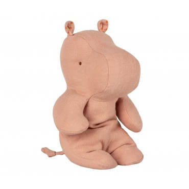 Doudou Little Hippo - Dusty rose