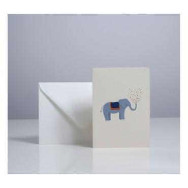 Carte double - Éléphant