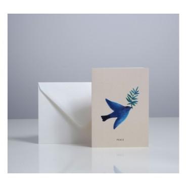 Carte double - Peace