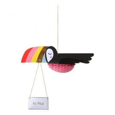 Carte anniversaire - Toucan