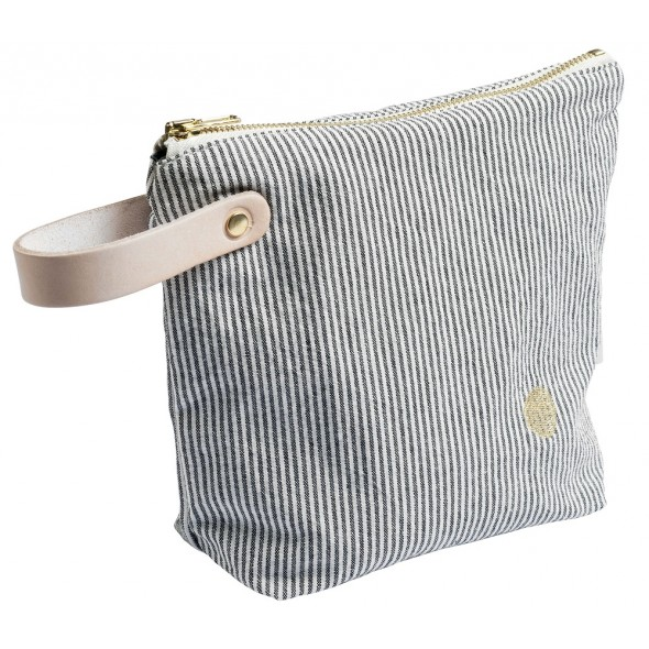 Trousse de toilette Finette - Caviar (PM)