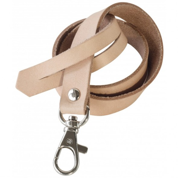 Porte clés attache en cuir