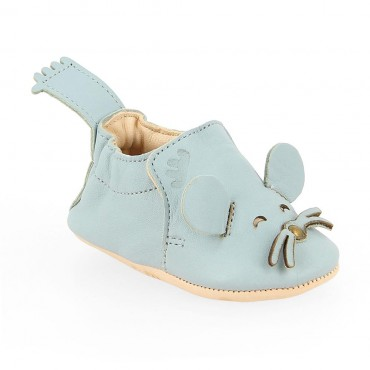 Chaussons Blumoo Mouse - Ecume