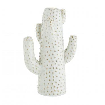 Vase cactus - Blanc cassé (grand modèle)