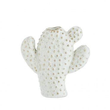 Vase cactus - Blanc cassé (petit modèle)