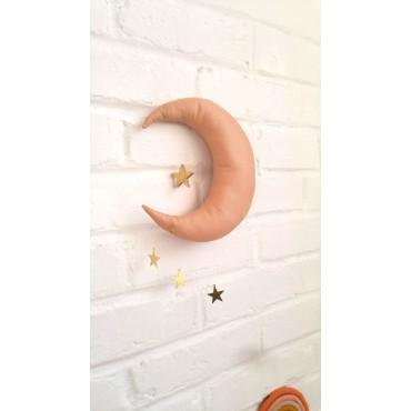 Mobile Lune et étoiles - Terracotta