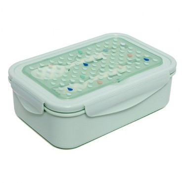 Bento box - Drops green