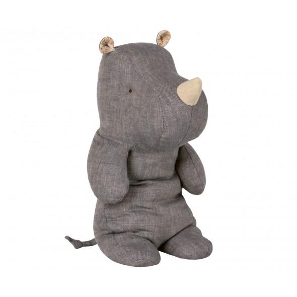 Doudou Rhino - Blue (Medium)