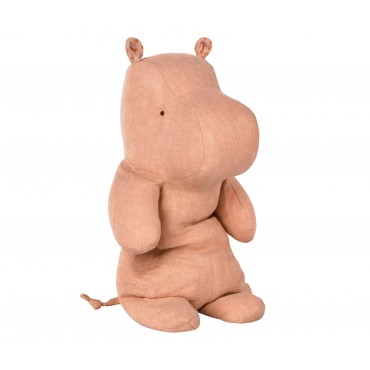 Doudou Hippo - Dusty rose (Medium)