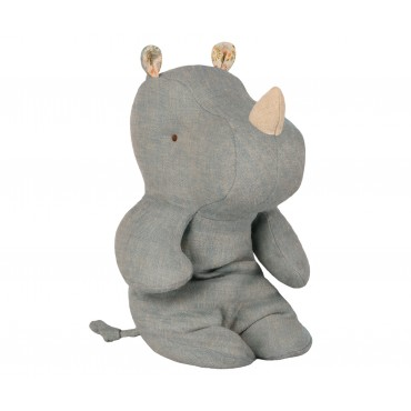 Doudou Rhino - Dove blue (Small)