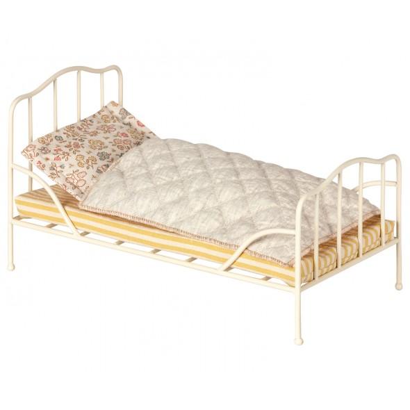 Petit lit vintage - Blanc cassé (Mini)