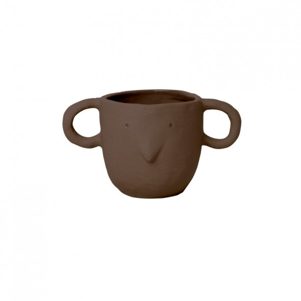 Pot Mus - Red brown (S)