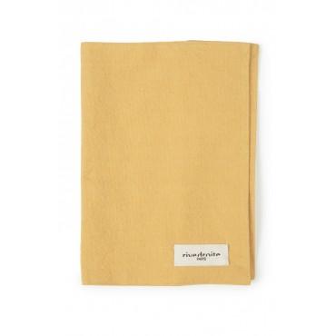 Protège carnet GABIN en coton recyclé - Miel