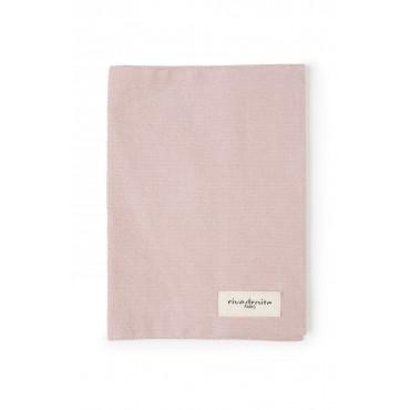Protège carnet GABIN en coton recyclé - Rose minéral