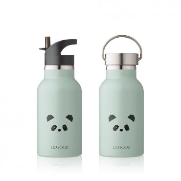 Gourde isotherme Anker - Panda (dusty mint)