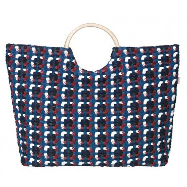 Panier Barry - Solidate blue