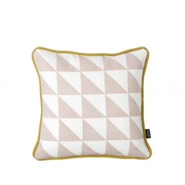 Coussin Little Geometry - Rose