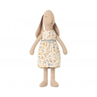 Poupée Lapin Fille - Flower dress (taille 2)