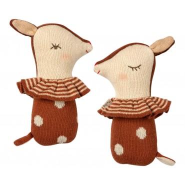 Hochet Bambi - Rusty