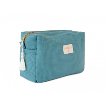 Trousse de toilette imperméable Diva - Magic green
