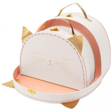 Set de 2 valises - Chat