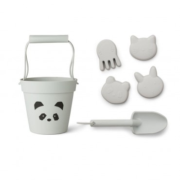 Set de plage Dante - Panda (dumbo grey)