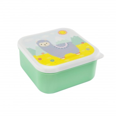 Lunch box carrée - Litlle Lama